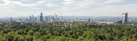Frankfurt am Main – Skyline vom Goetheturm gesehen